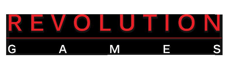 Image result for Revolution games logo roger miller