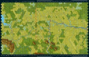 Image of Washingtons Crossing Map